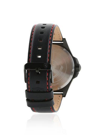 Scuderia Ferrari Online Store - Scuderia Ferrari Pilota watch in black - Quartz Watches