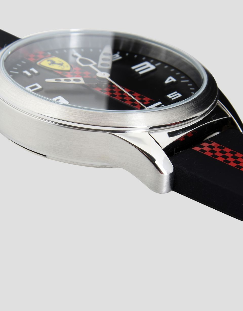 Scuderia Ferrari Online Store - Pitlane kids watch in black -