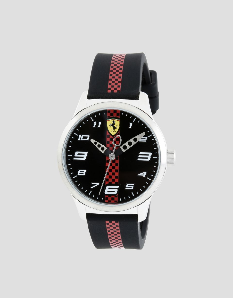 rev ferrari italy item red specifics quartz scuderia t black kids new watch