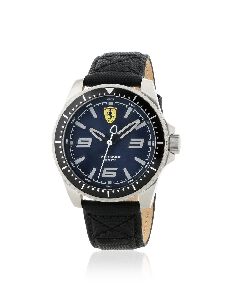 Scuderia Ferrari Online Store - XX Kers Scuderia Ferrari watch with blue dial - Quartz Watches