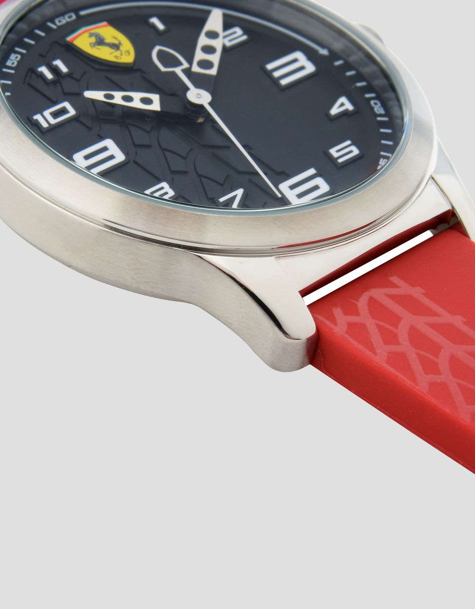 Scuderia Ferrari Online Store - Pitlane watch for teens with black dial - Quartz Watches