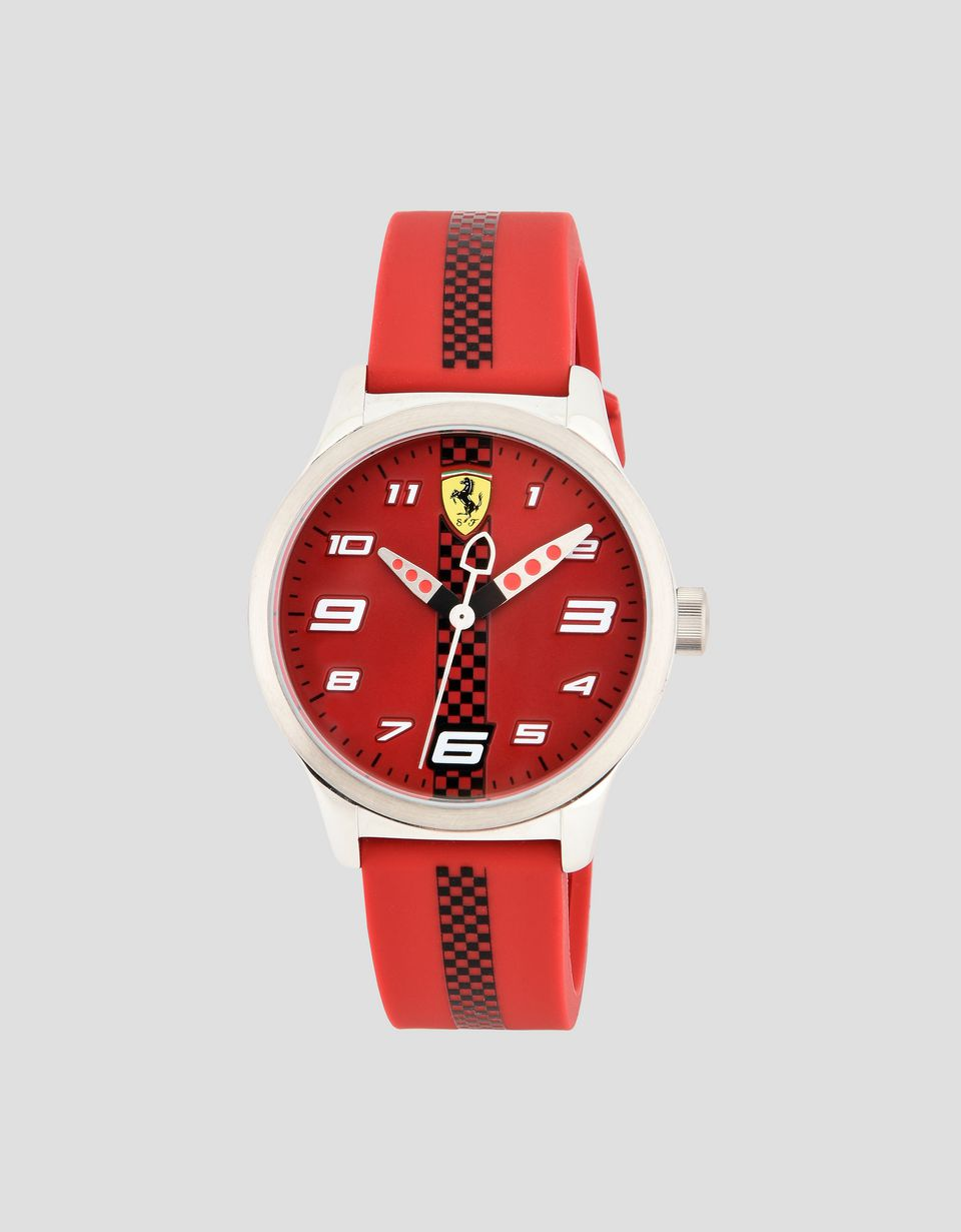 Scuderia Ferrari Online Store - Pitlane watch for teens in red -