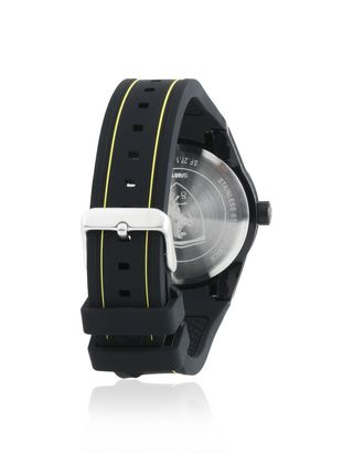 Scuderia Ferrari Online Store - RedRev quartz watch in black with yellow details - Quartz Watches