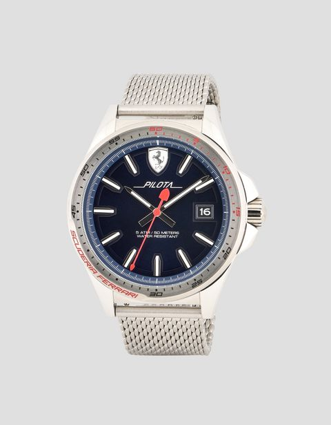 Pilota watch with blue dial