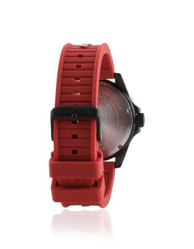 Scuderia Ferrari Online Store - XX Kers watch in black with red strap - Quartz Watches