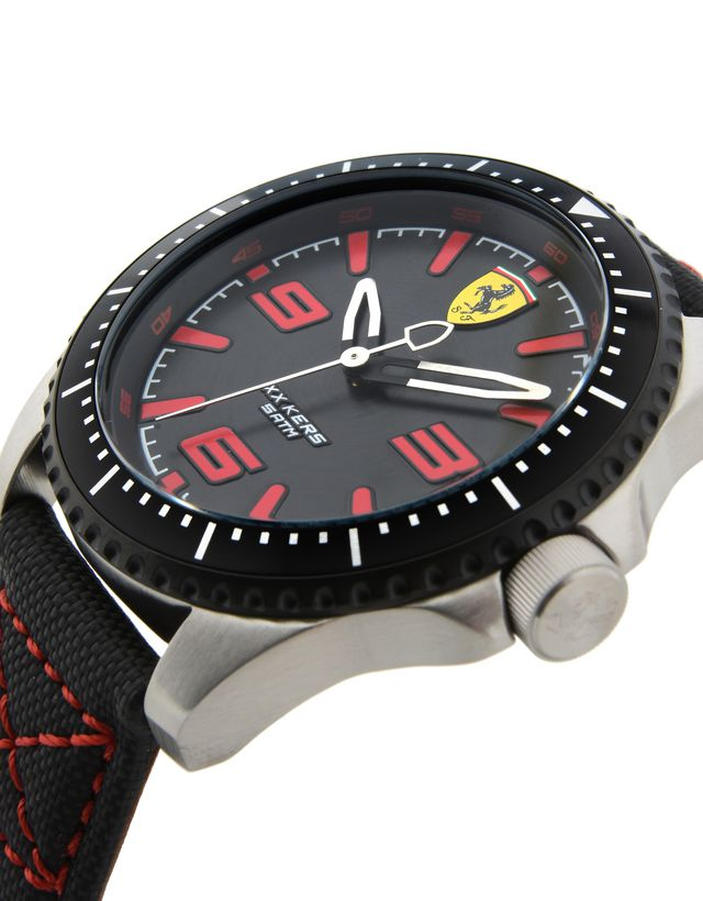 watch station designer ferrari pilota scuderia watches shade