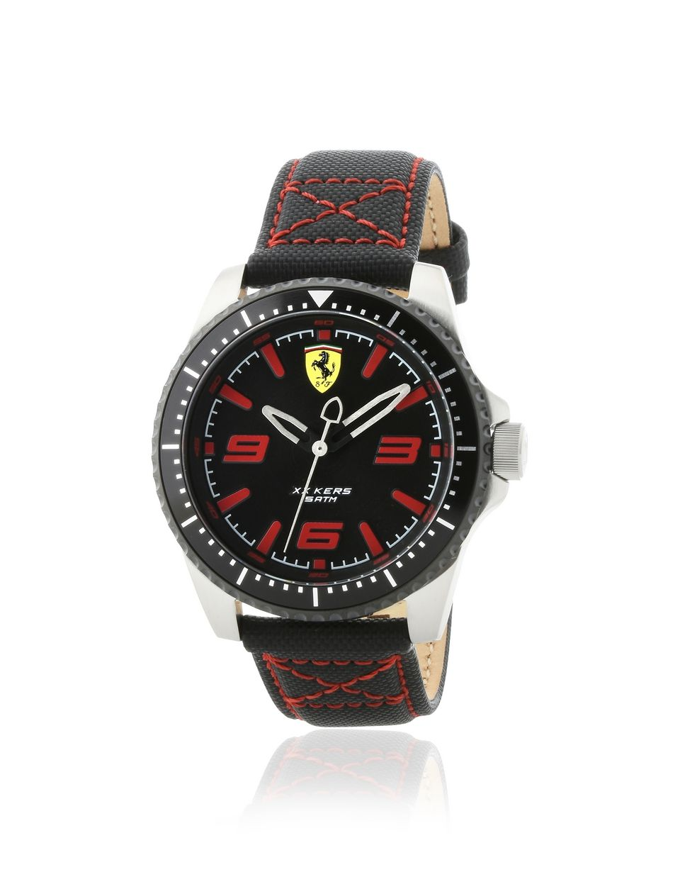 Scuderia Ferrari Online Store - XX Kers watch in black with red detailing -