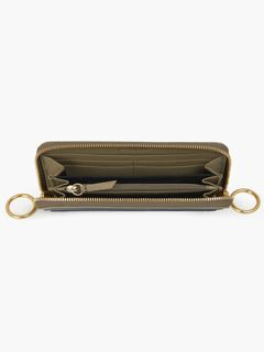 Miya long zipped wallet