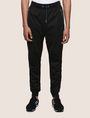 ARMANI EXCHANGE POP COLOR CONTRAST JOGGER Fleece Trouser Man f