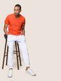 ARMANI EXCHANGE POP COLOR CONTRAST JOGGER Fleece Pant Man a