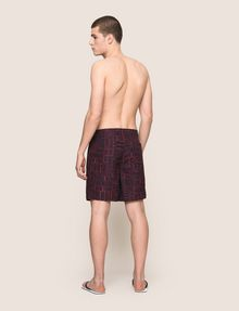 ARMANI EXCHANGE TYPOGRAPHY LOGO SWIM SHORTS Swim Man e