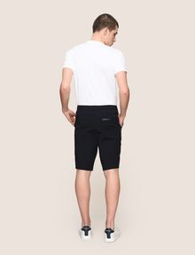 ARMANI EXCHANGE SEAMED DRAWSTRING SWEATSHORTS Fleece Short Man e
