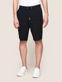 ARMANI EXCHANGE SEAMED DRAWSTRING SWEATSHORTS Fleece Short Man f