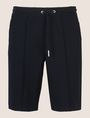 ARMANI EXCHANGE SEAMED DRAWSTRING SWEATSHORTS Fleece Short Man r