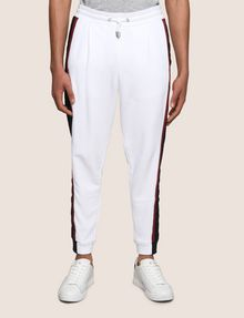 ARMANI EXCHANGE TRICOLOR LOGO TAPE JOGGER Fleece Pant Man f