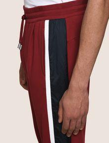 ARMANI EXCHANGE TRICOLOR LOGO TAPE JOGGER Fleece Pant Man b