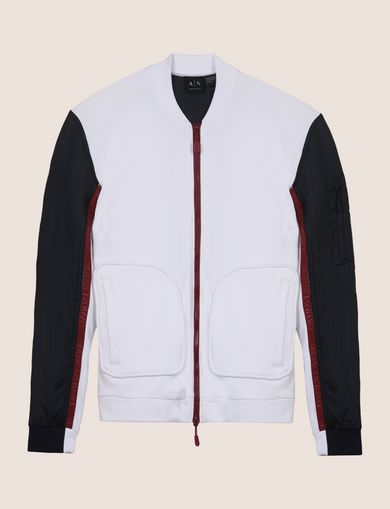 PIECED COLORBLOCK TRACK JACKET