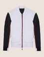ARMANI EXCHANGE PIECED COLORBLOCK TRACK JACKET Fleece Jacket Man r