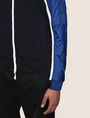 ARMANI EXCHANGE PIECED COLORBLOCK TRACK JACKET Fleece Jacket Man b