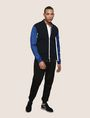 ARMANI EXCHANGE PIECED COLORBLOCK TRACK JACKET Fleece Jacket Man d