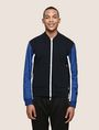 ARMANI EXCHANGE PIECED COLORBLOCK TRACK JACKET Fleece Jacket Man f
