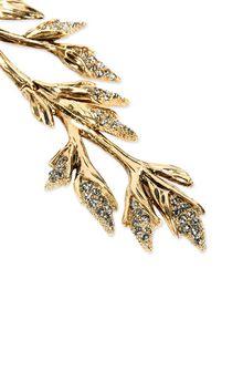 ALBERTA FERRETTI Clip-on foliage earrings Earrings D e