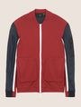 ARMANI EXCHANGE PIECED COLORBLOCK TRACK JACKET Fleece Jacket [*** pickupInStoreShippingNotGuaranteed_info ***] r