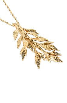 ALBERTA FERRETTI Long foliage necklace. Necklace Woman d