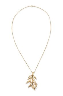 ALBERTA FERRETTI Long foliage necklace. Necklace Woman f