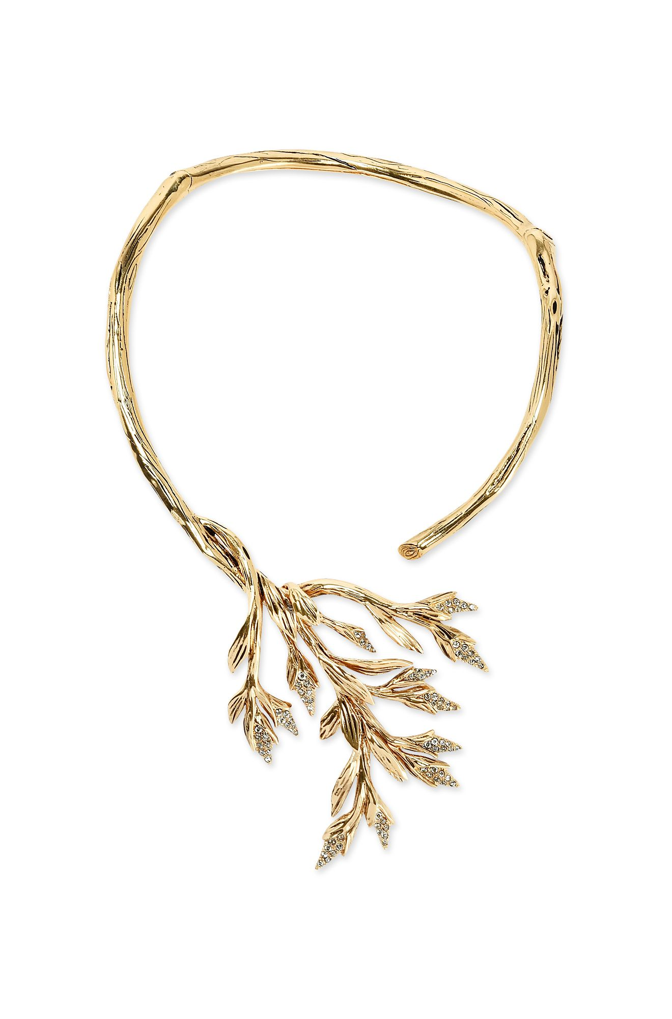 Foliage necklace