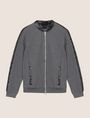 ARMANI EXCHANGE FAUX-LEATHER BOMBER JACKET Fleece Jacket Man r