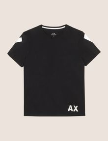 ARMANI EXCHANGE OVERSIZED LOGO YOKE TEE Logo T-shirt Man r