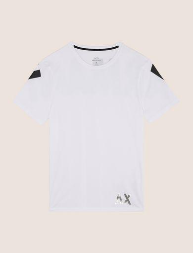 バックショルダーロゴ Tシャツ