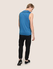 ARMANI EXCHANGE PLACED LOGO MESH TANK S/L Knit Top Man e