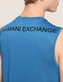 ARMANI EXCHANGE PLACED LOGO MESH TANK S/L Knit Top Man b