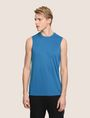 ARMANI EXCHANGE PLACED LOGO MESH TANK S/L Knit Top Man f