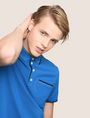 ARMANI EXCHANGE CONTRAST TIPPING POLO SHORT SLEEVES POLO Man a