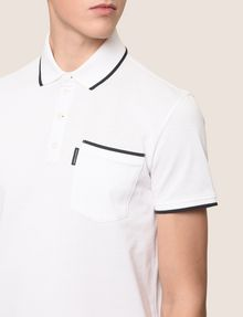 ARMANI EXCHANGE CONTRAST TIPPING POLO SHORT SLEEVES POLO Man b