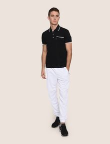 ARMANI EXCHANGE CONTRAST TIPPING POLO SHORT SLEEVES POLO Man d