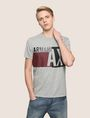 ARMANI EXCHANGE RETRO BEAT COLORBLOCK CREW Logo T-shirt [*** pickupInStoreShippingNotGuaranteed_info ***] f