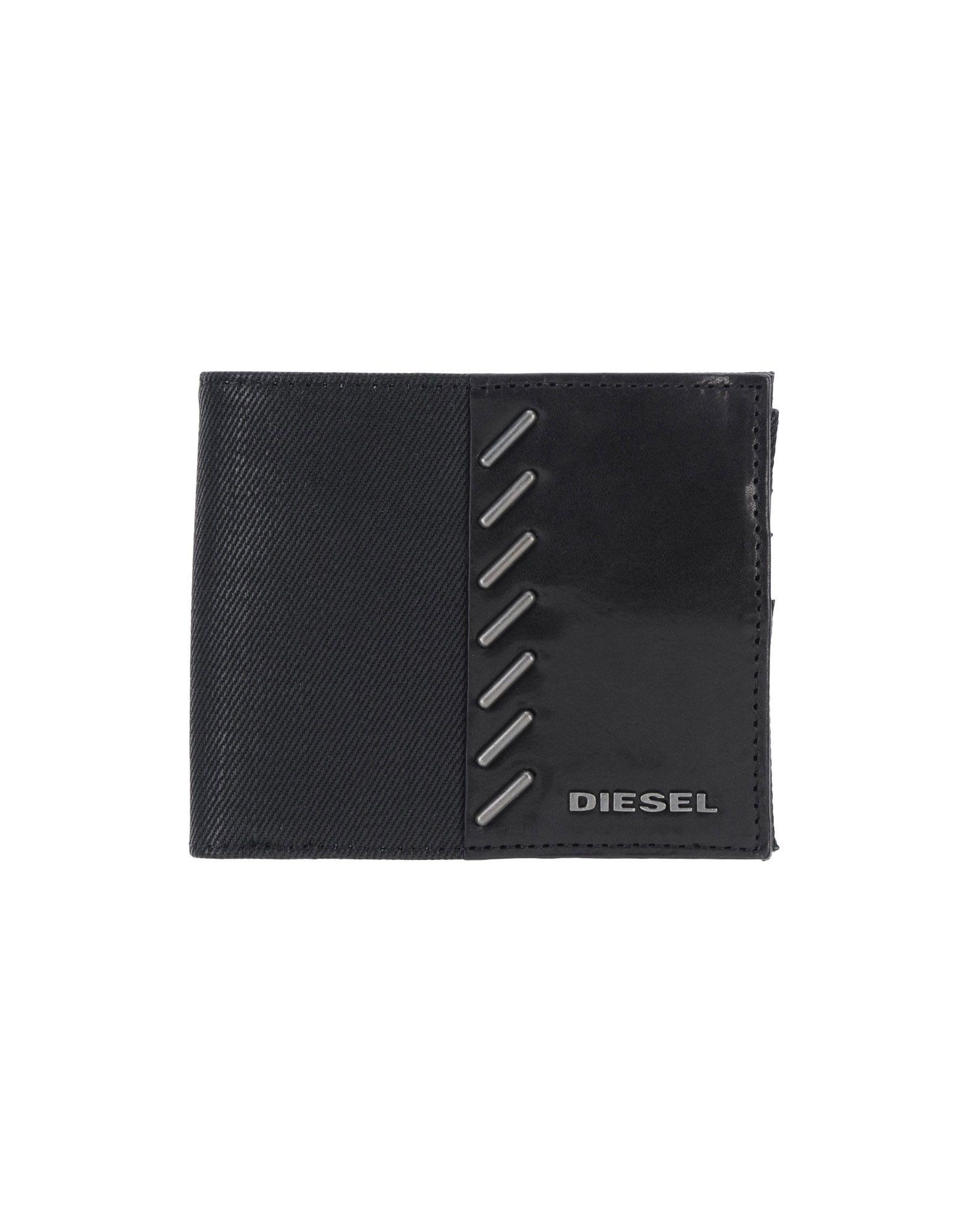 メンズ ディ-ゼル 財布  ブラック