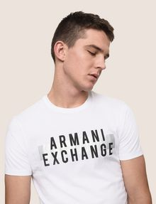 ARMANI EXCHANGE Logo-T-Shirt [*** pickupInStoreShippingNotGuaranteed_info ***] a