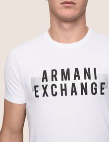ARMANI EXCHANGE Logo-T-Shirt [*** pickupInStoreShippingNotGuaranteed_info ***] b