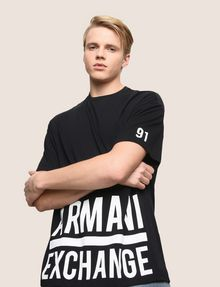 ARMANI EXCHANGE Logo T-shirt Man a