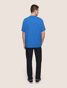 ARMANI EXCHANGE HEM PRINT LOGO CREWNECK Logo T-shirt Man e