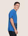 ARMANI EXCHANGE HEM PRINT LOGO CREWNECK Logo T-shirt Man a