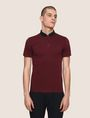 ARMANI EXCHANGE CONTRAST TAB COLLAR POLO SHORT SLEEVES POLO Man f