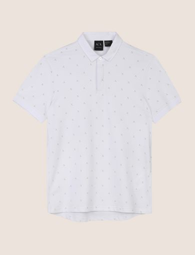 SCATTERED LOGO POLO