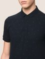 ARMANI EXCHANGE SCATTERED LOGO POLO SHORT SLEEVES POLO Man b