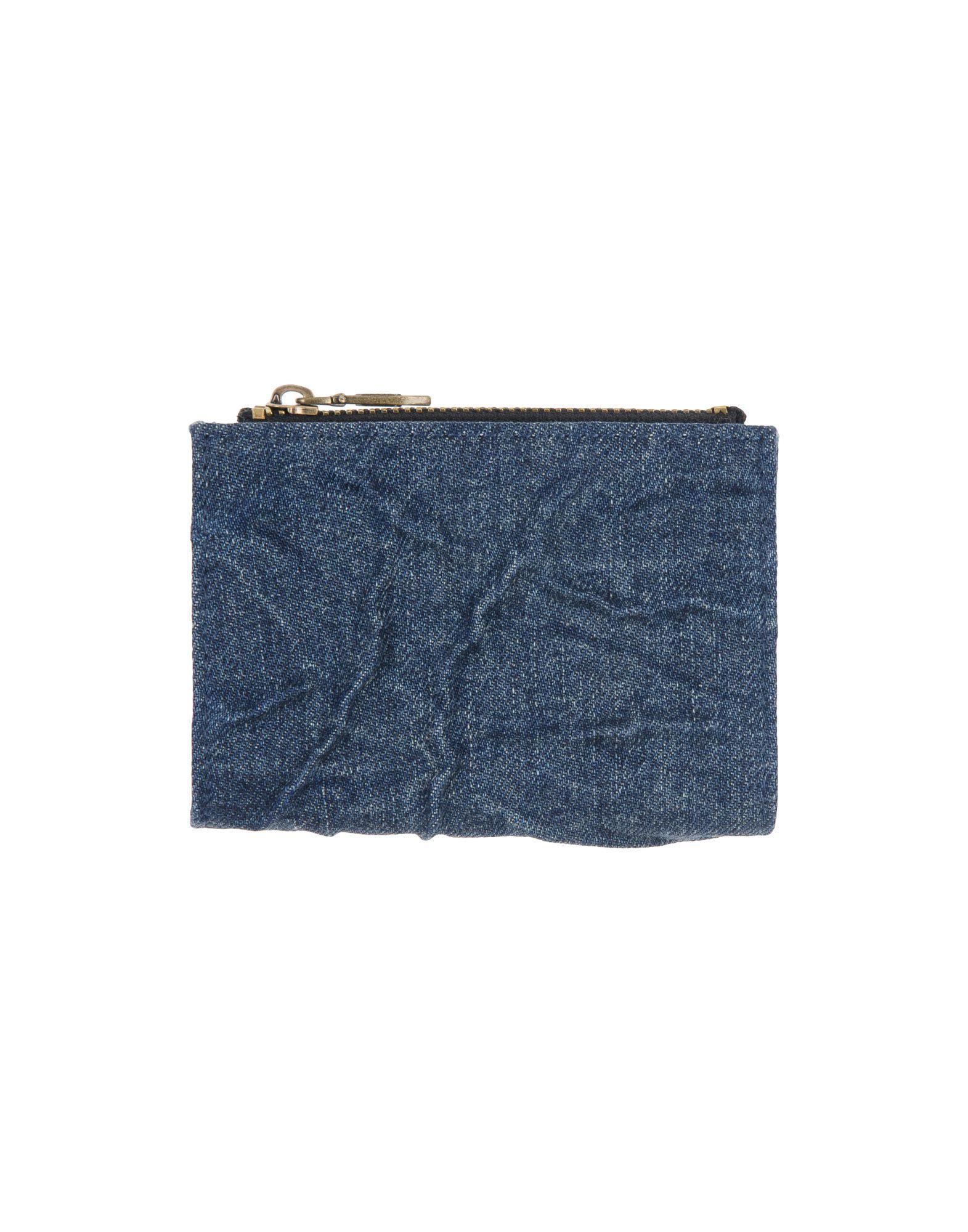 メンズ ディ-ゼル 財布  ブルー